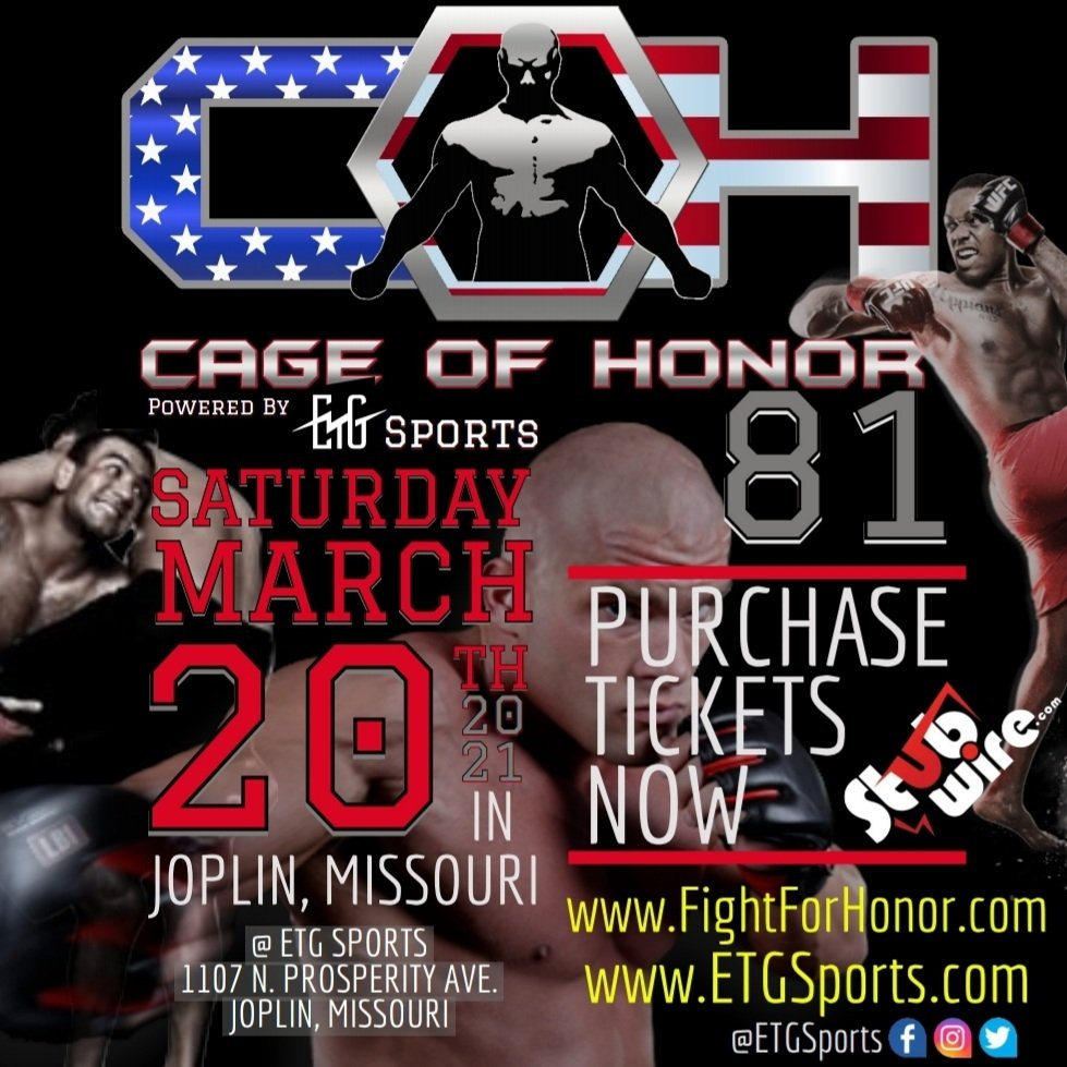 ETG SPORTS - Cage Of Honor 81